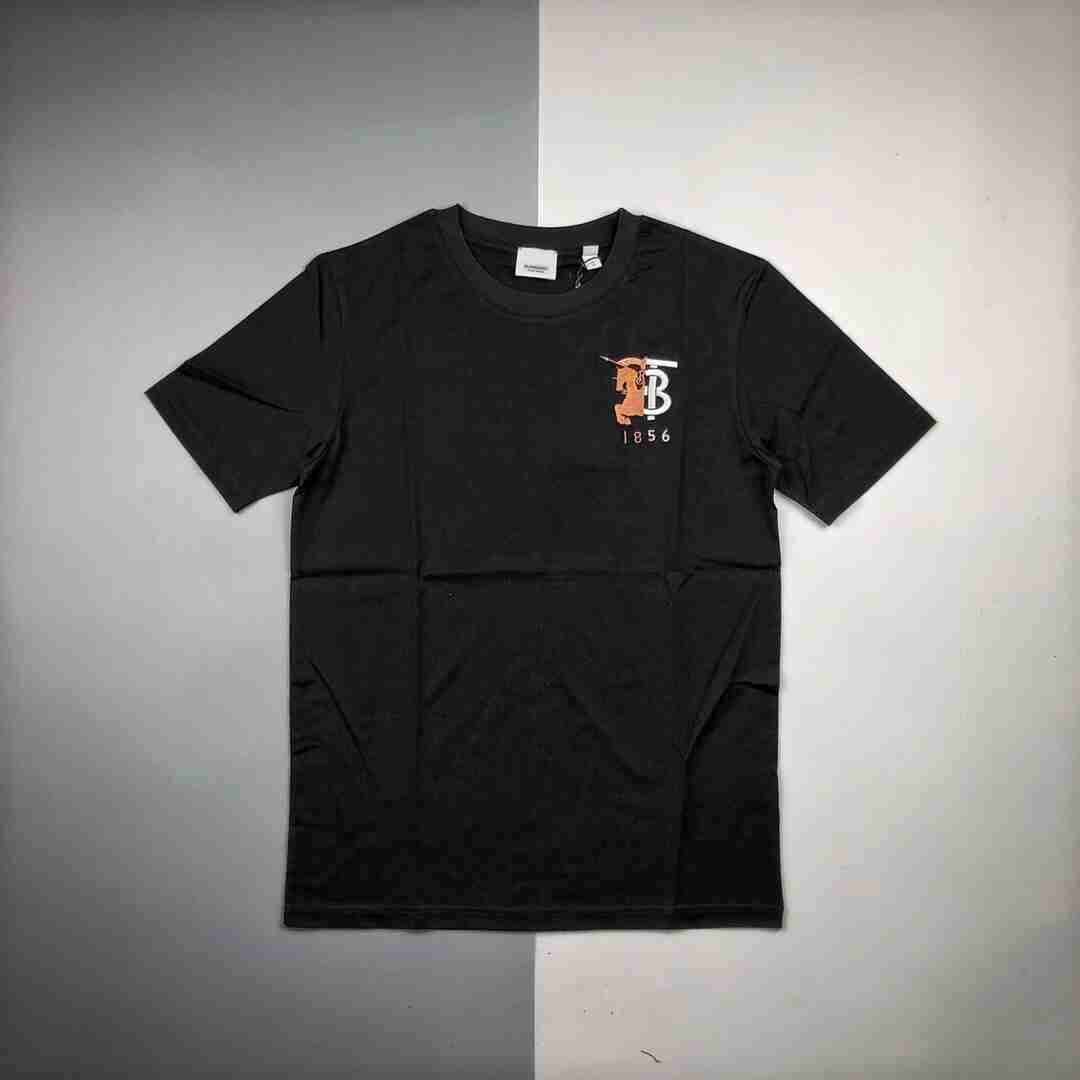 BURBERRY巴宝莉BBR 20ss 战马logo徽标短袖T恤