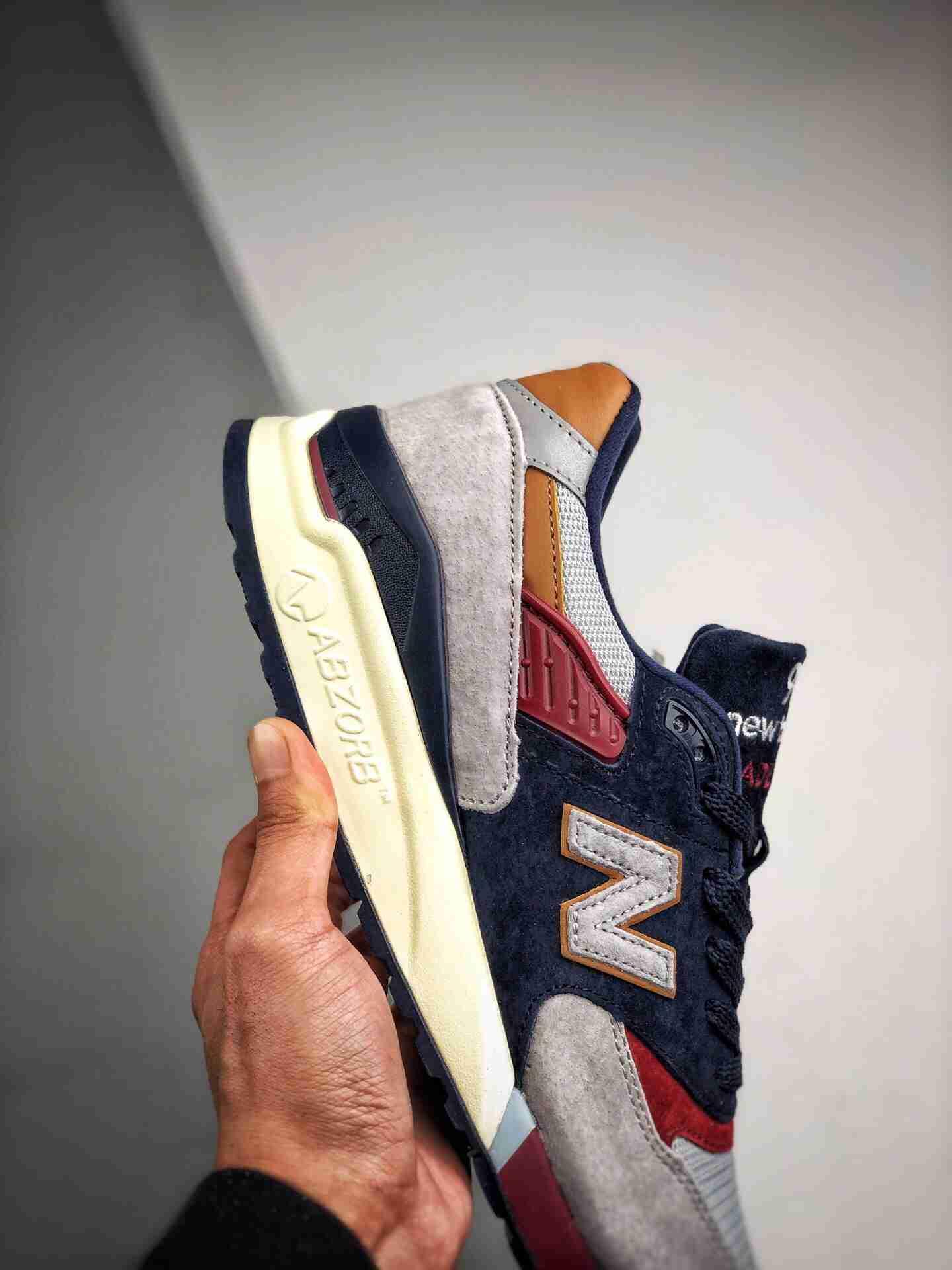 New Balance 998 新百伦 3M反光复古慢跑鞋