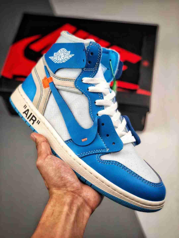 OG纯原版本 出货释放市场‼‼ Air Jordan 1 x OFF-WHITE