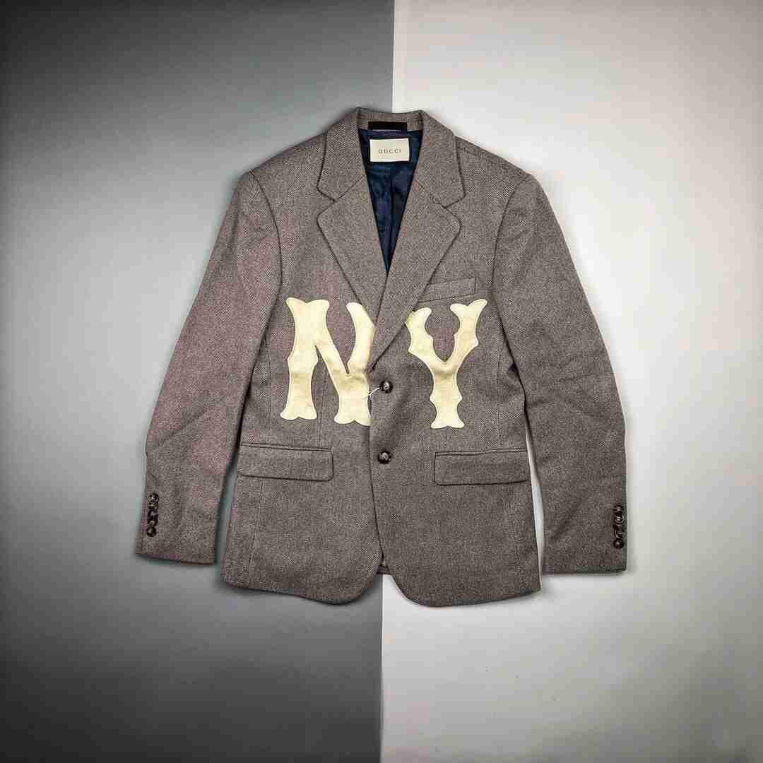 Gucci X NY联名西装夹克