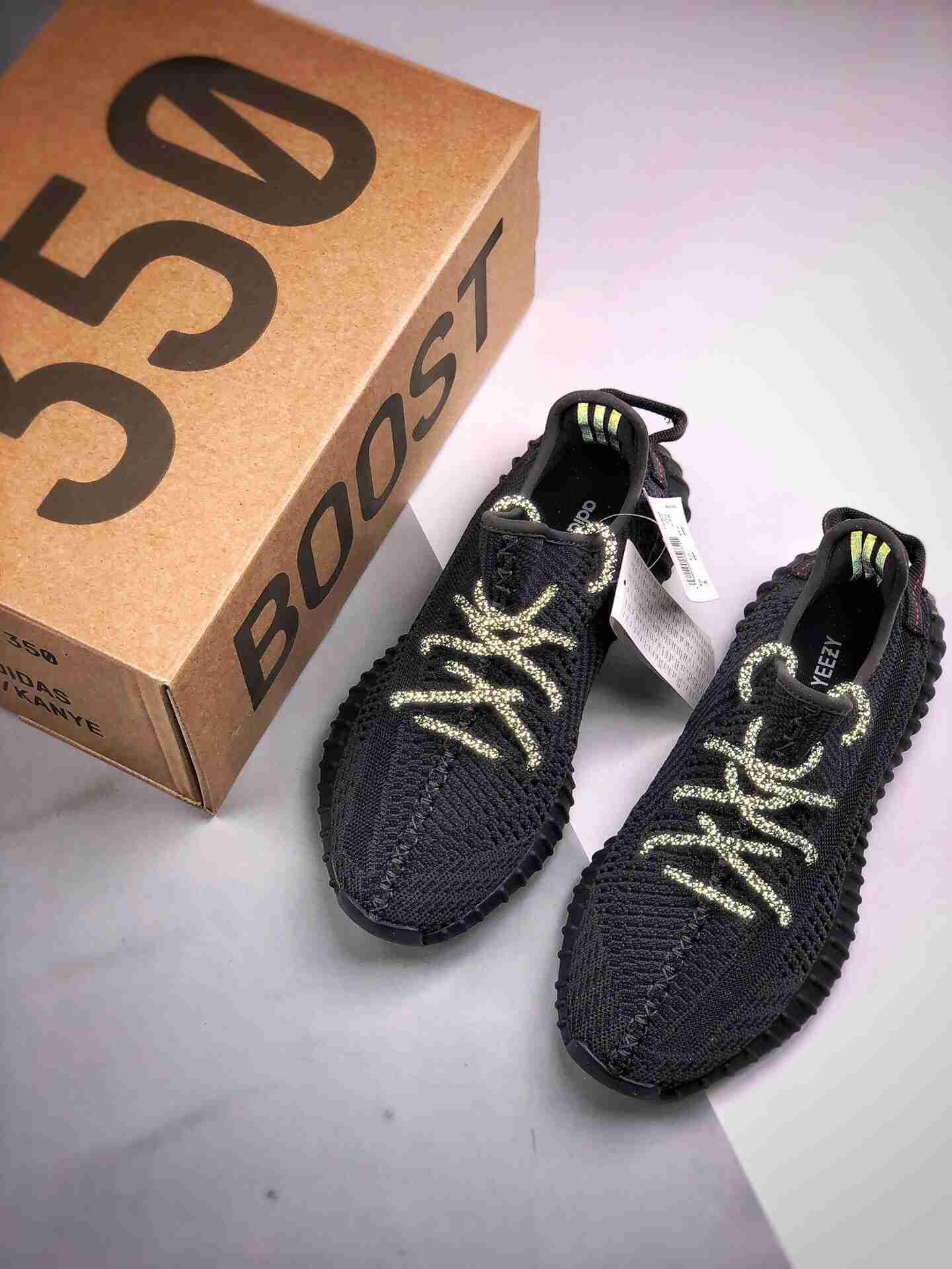 Adidas 350V2 Boost 黑天使