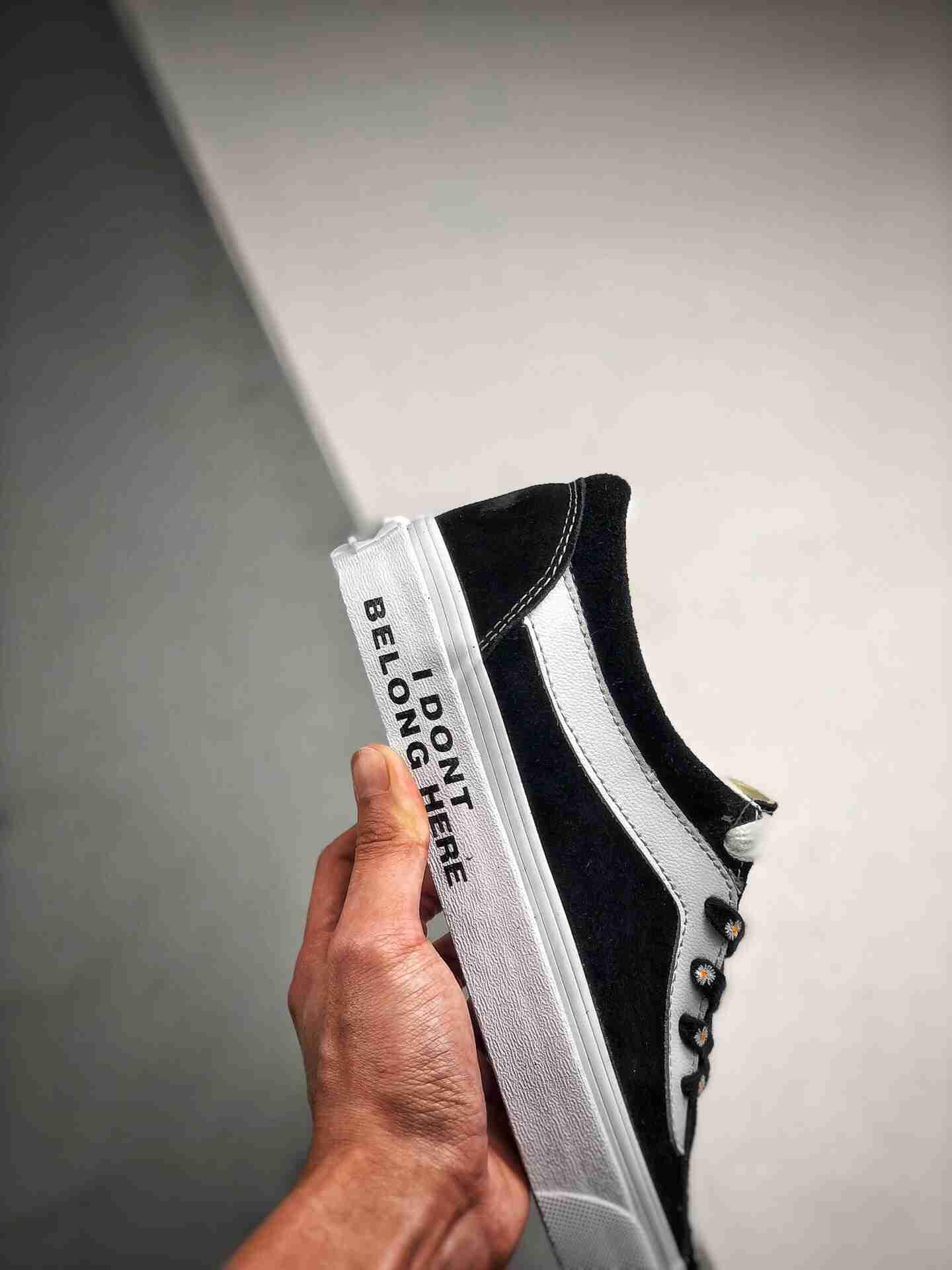 Vans Bold Ni 手绘雏菊硫化板鞋