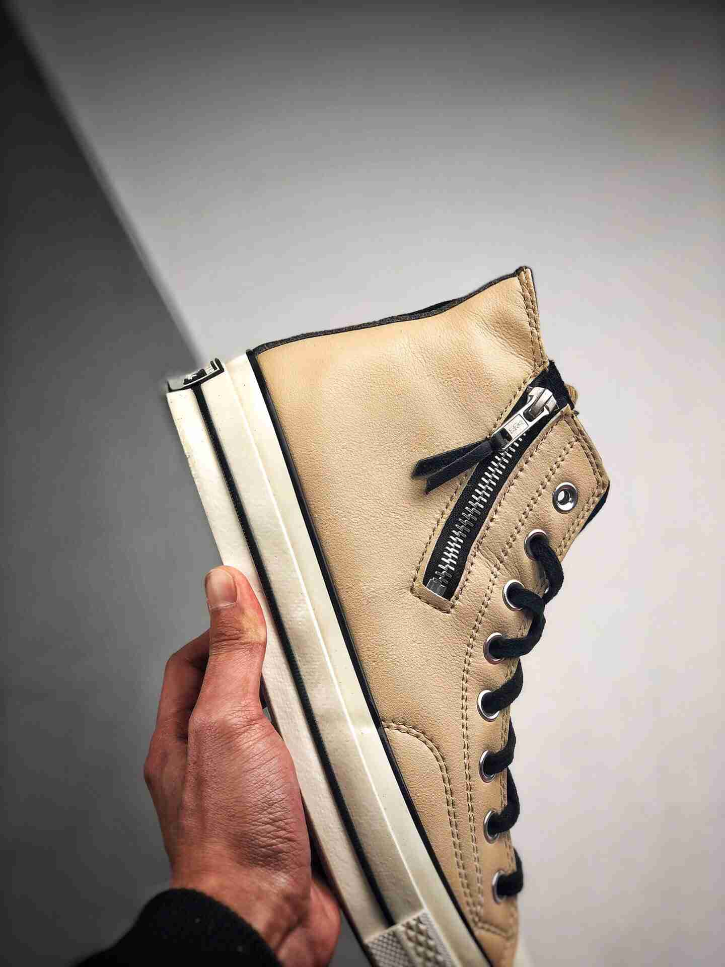 Converse 1970s Side Zip Hi Leather