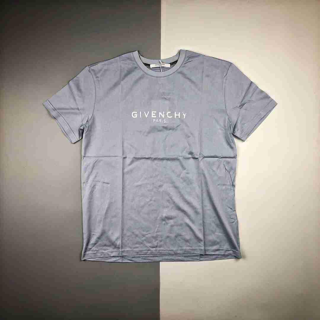 Givenchy 纪梵希 19ss 胸前破坏logo短袖
