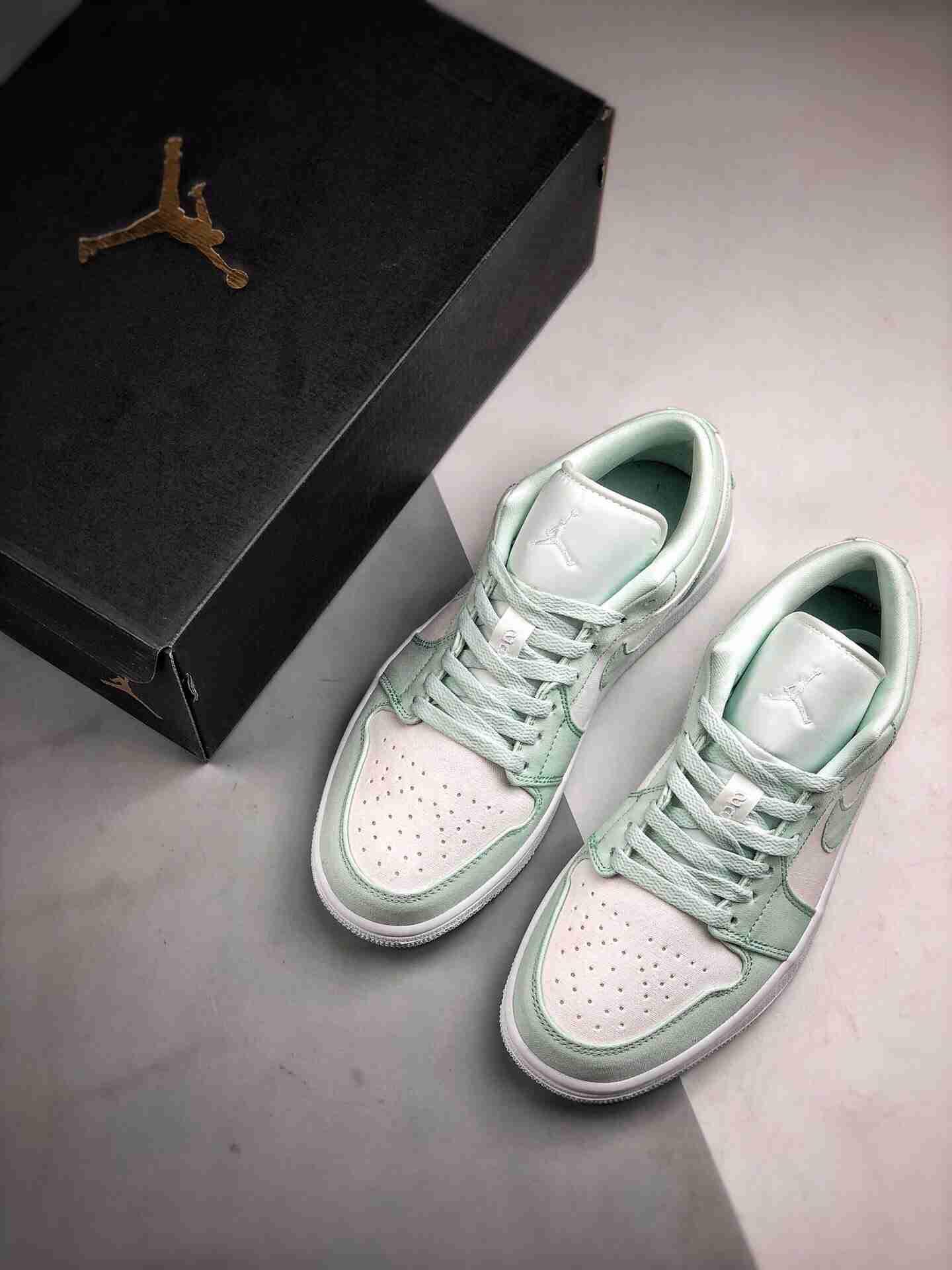 Air Jordan 1 Low 薄荷绿