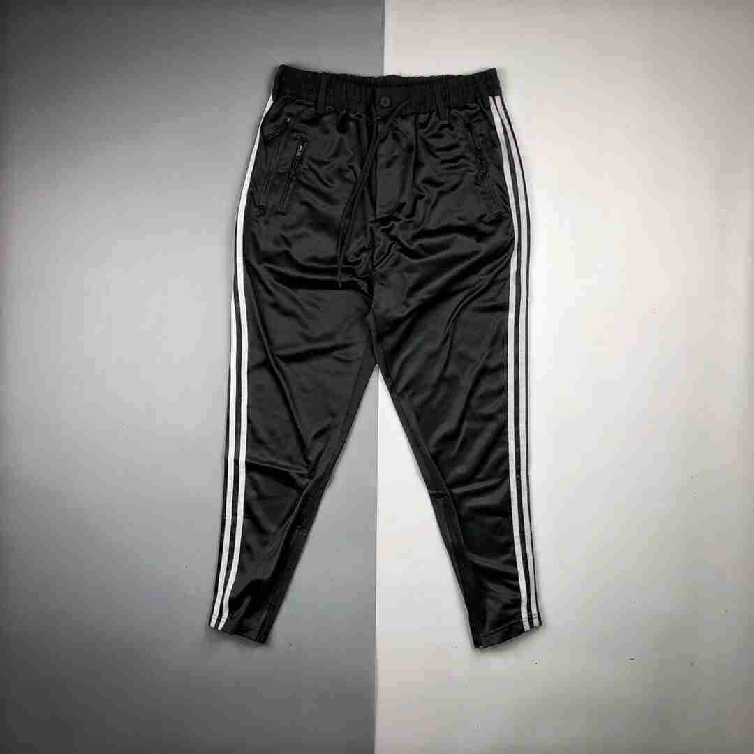 Y-3/山本耀司 20ss Apered Track Trousers拉链徽标休闲长裤