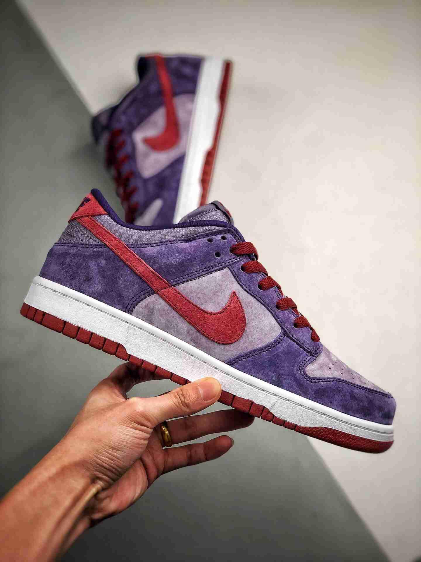 "Nike Dunk SB ""Plum""树莓紫 梅子"