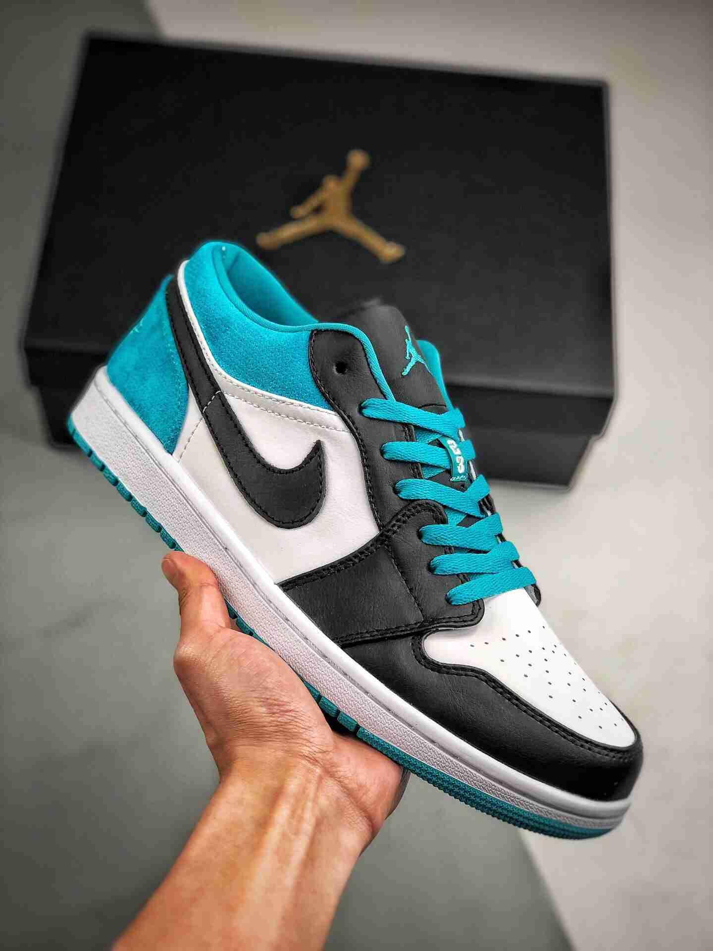 Air Jordan 1 Low 激光绿