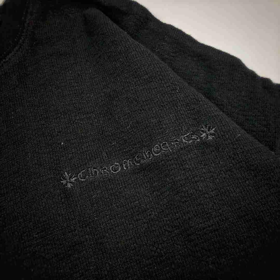 Chrome Hearts/克罗心 20ss 十字架贴饰长袖圆领卫衣